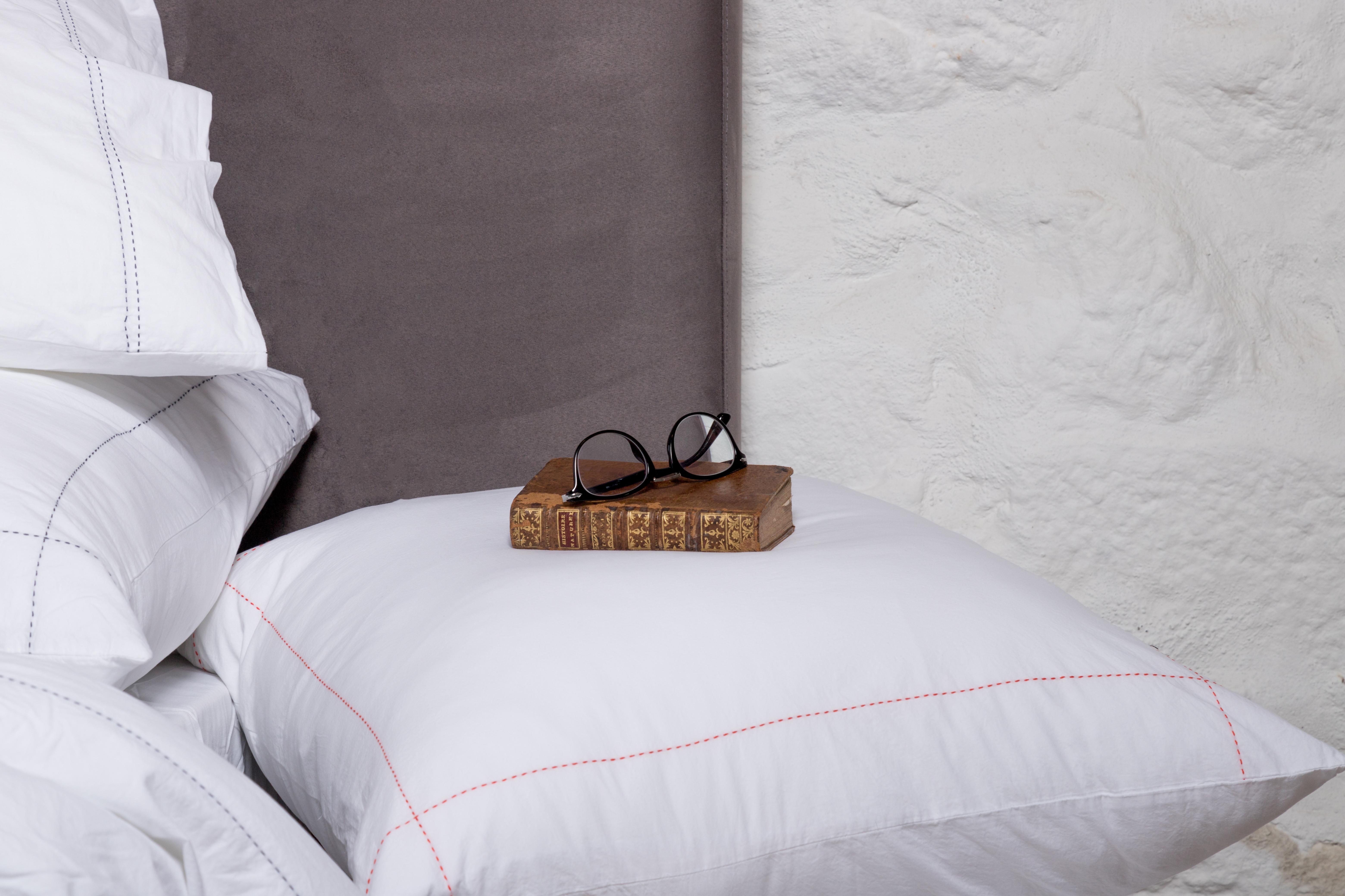 roupa de cama em percal